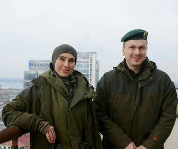 Амина Окуева и Адам Осмаев.