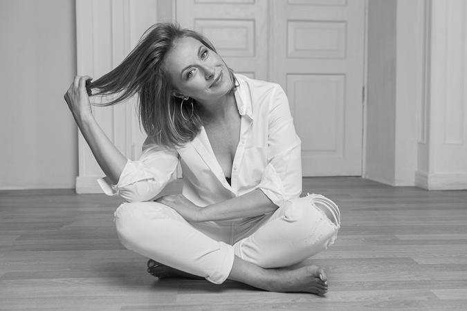 Елена Кравец показала свою естественную красоту фото 1