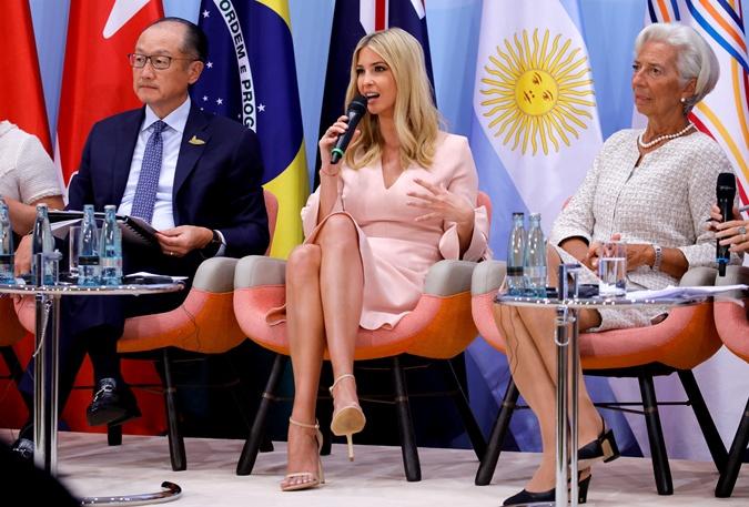 Дональд Трамп и Челси Клинтон обсудили роль Иванки на саммите G-20 фото 1