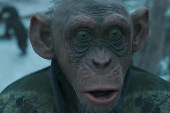 Кинопрокат в Российской Федерации  завыходные возглавил фильм «Планета обезьян: Война»