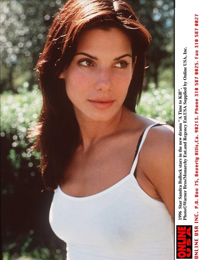 Страница журнала 1996 года. Тогда Буллок уже была суперзвездой после фильма