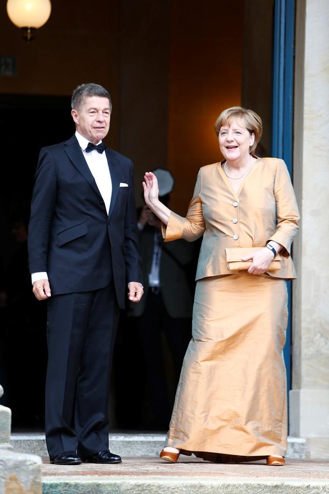 Ангела Меркель с супругом, ученым Иоахимом Зауэром.