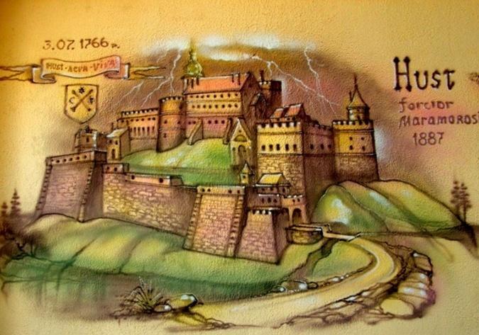 Замок Дракулы - это в Закарпатье 24285248