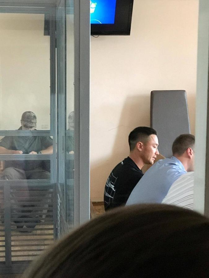 Артем Ким в суде.