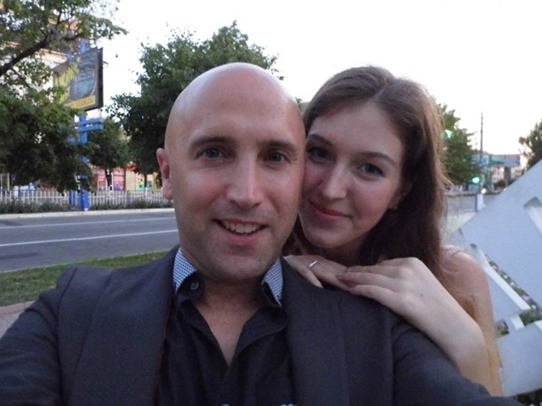 Невеста журналиста из Луганска.
