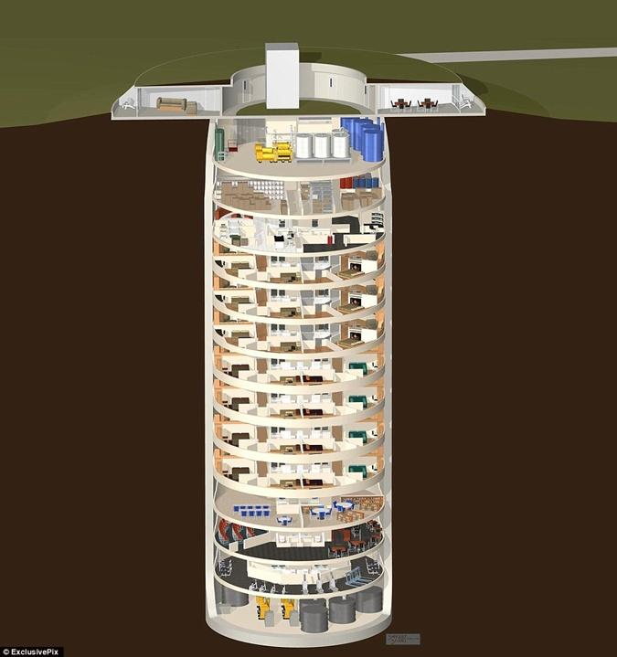 Предчувствие апокалипсиса: в мире в несколько раз вырос спрос на противоядерные бункеры фото 2