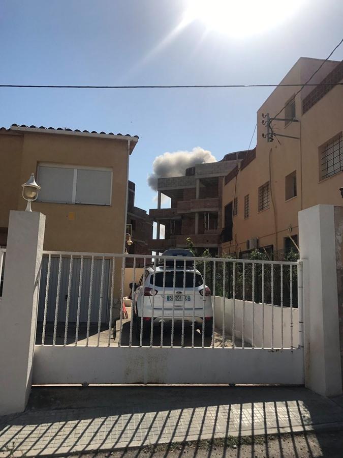 Взрыв в жилом доме.