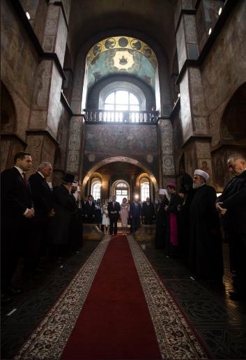 О чем Порошенко с семьей молились в День Независимости  фото 2