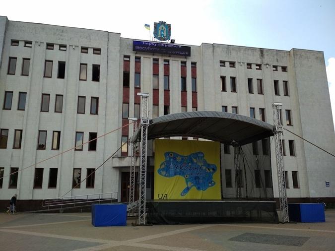 Броварской плакат с картой Украины без Крыма изготовили во Львове? фото 3