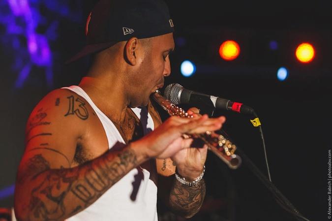 Неистовые музыканты Asian Dub Foundation подарили