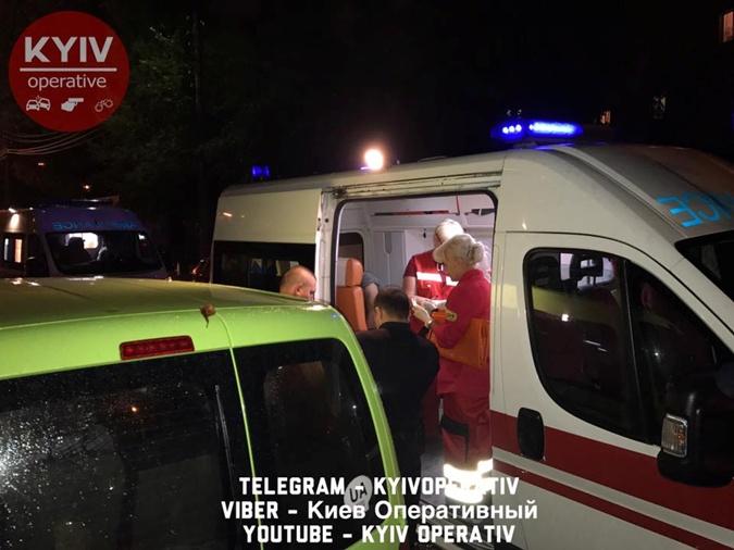 ВКиеве впарке произошла драка сострельбой, есть раненые