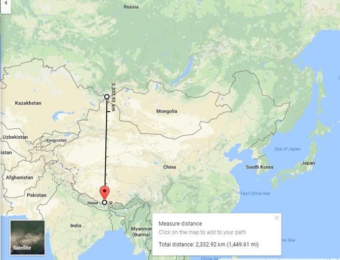 Российские дипломаты заявили, что Эверест находится в России  фото 1