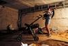 Жители Макеевки, Донецкой области, прятались в подвалах домов во время обстрела города