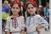 Киевский конкурс близнецов в вышиванках