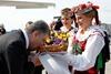 Участники переговоров  Евразийская тройка  прибыли в Минск