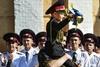 Первый звонок в военном лицее им. Богуна