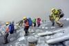 В Японии началось извержение вулкана Онтаке