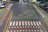 Перекресток в Каменец-Подольском украсили вышиванкой