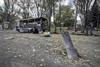 Донецк обстрелян из системы залпового огня.