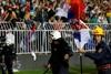 Матч  Сербия - Албания  сорвался из-за потасовок