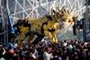 В Пекине установили огромных роботов