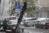 Западную Украину замело первым снегом