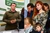 Семен Семенченко показал свою жену и сына