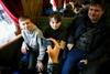 На День святого Николая в Харькове запустили ретропоезд
