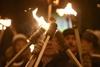 Факельное шествие в честь Степана Бандеры