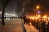 факельное шествие в честь Степена Бандеры в днепре