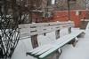 Запорожье в снегу