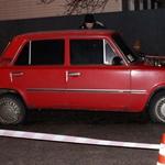 В Днепре угонщик на одном колесе убегал от патрульных