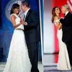 Мишель VS Мелания: сравниваем образы первых леди США на инаугурации