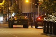 Военные учения в Киеве: бойцы репетировали освобождение парламента и защиту Кабмина