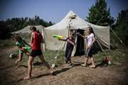 Дети из зоны АТО оживают в  Лесной заставе