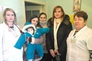 В полтавскую больницу подбросили младенца с пакетом игрушек