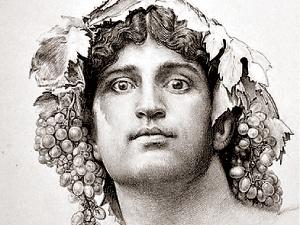 Иван часто рисовал себя в виде античных богов.