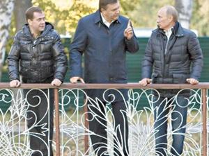 а еще в сентябре 2011 года в Москве главы России и Украины общались, как старые друзья