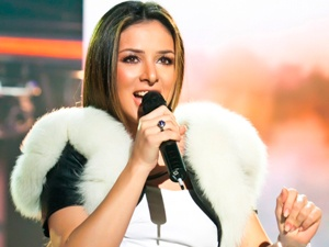 На «Евровидении» в Швеции Украина будет брать выдающейся красотой и ярким талантом. Фото: предоставлены пресс-службой Златы Огневич.