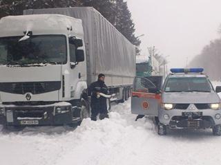 Херсон закрыли для проезда грузовому транспорту