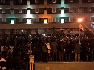 В Минске прошел митинг  тунеядцев  - он продлился всего час