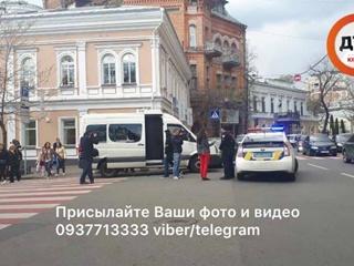 Возле Золотых ворот в Киеве произошла стрельба