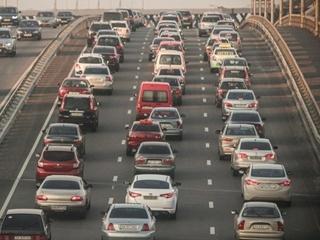 Пробки в Киеве достигли 9 баллов