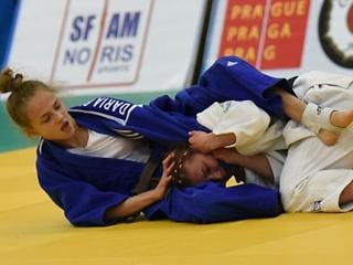 16-летняя украинка стала чемпионкой Европы по дзюдо