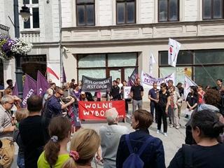 Во время протестов в Польше задержан 31 человек