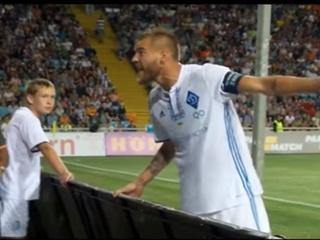 Появилось видео, как Ярмоленко крыл матом ультрас  Динамо  за петарды