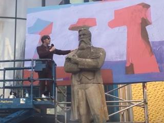 В Манчестере открыли памятник Фридриху Энгельсу из харьковского села