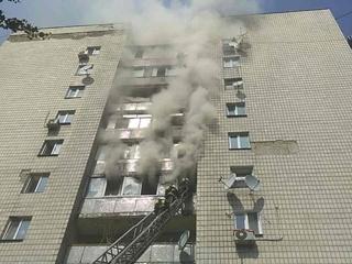 В Киеве мужчина разбился, спасаясь от пожара, всего - трое погибших