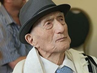 В Израиле умер старейший мужчина мира