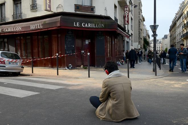 париж траур фото